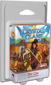 Crystal Clans : Fire Clan Expansion Deck
